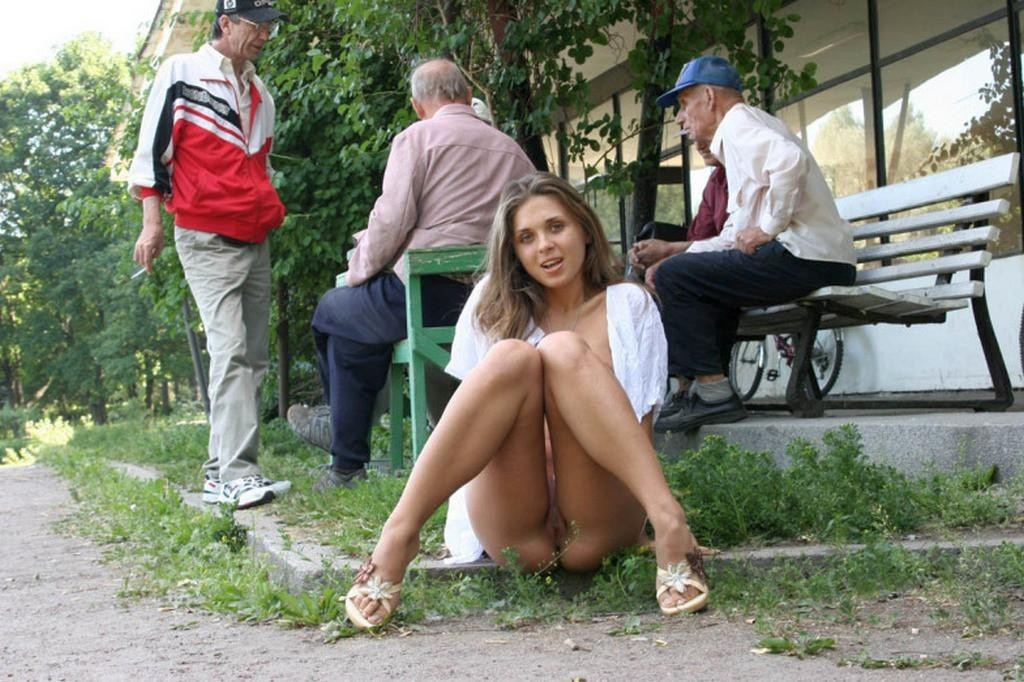 Ftv lena outdoors upskirt want